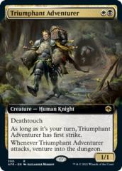 Triumphant Adventurer - Foil - Extended Art