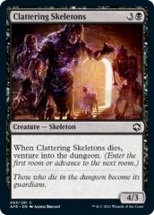 Clattering Skeletons - Foil