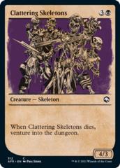 Clattering Skeletons - Foil - Showcase