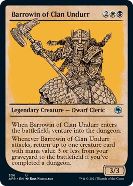 Barrowin of Clan Undurr - Foil - Showcase