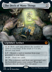 The Deck of Many Things - Extended Art