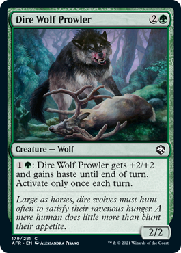 Dire Wolf Prowler