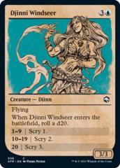 Djinni Windseer - Foil - Showcase