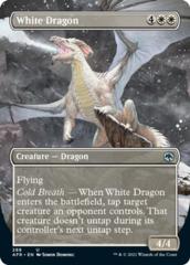 White Dragon - Foil - Borderless