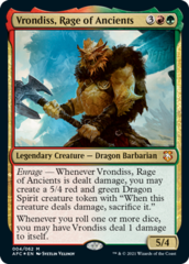 Vrondiss, Rage of Ancients - Foil