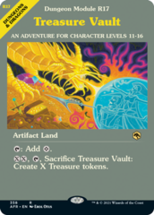 Treasure Vault - Foil - Dungeon Module