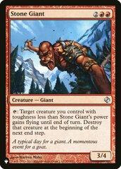 Stone Giant - The List
