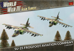 TSBX20: SU-25 Frogfoot Aviation Company (x2 Plastic)