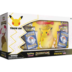 Pikachu VMAX Celebrations Premium Figure Collection LIMITED PER CUSTOMER