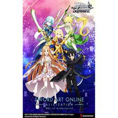 Sword Art Online Alicization Volume 2 Booster Box