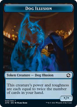 Dog Illusion Token