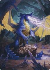 Blue Dragon Art Card