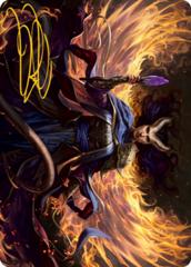 Farideh, Devil's Chosen Art Card -  Gold-Stamped Signature
