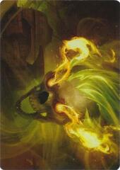 Flameskull  Art Card
