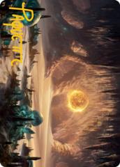 Plains (265) Art Card -  Gold-Stamped Signature
