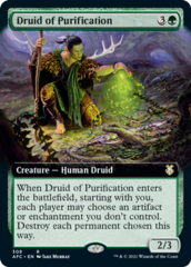 Druid of Purification - Extended Art
