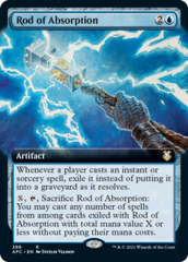 Rod of Absorption - Extended Art