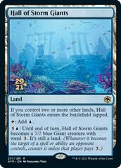 Hall of Storm Giants - Foil - Prerelease Promo