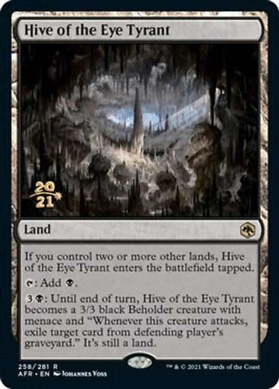 Hive of the Eye Tyrant - Foil - Prerelease Promo