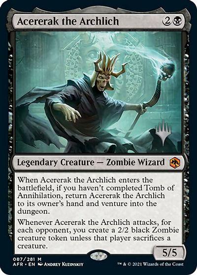 Acererak the Archlich - Foil - Promo Pack
