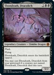 Ebondeath, Dracolich - Promo Pack