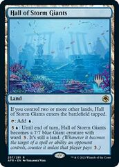 Hall of Storm Giants - Promo Pack