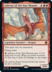 Inferno of the Star Mounts - Foil - Promo Pack