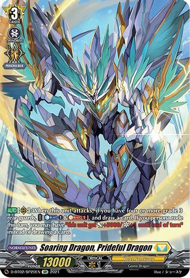 Soaring Dragon, Prideful Dragon - D-BT02/SP20EN - SP