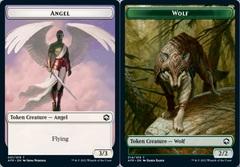 Angel Token // Wolf Token - Foil