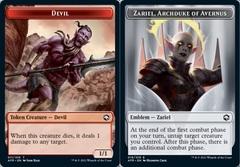 Devil Token // Emblem - Zariel, Archduke of Avernus - Foil