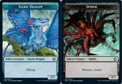 Faerie Dragon Token // Spider Token - Foil