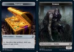 Treasure Token // Zombie Token - Foil