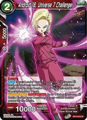 Android 18, Universe 7 Challenger - BT14-013 - R