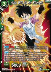 Videl, With All Her Strength - BT14-067 - SR