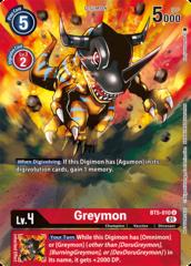Greymon - BT5-010 - U - Alternative Art