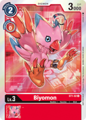 Biyomon - ST1-02 (July Evolution Cup 2021 Event Pack)