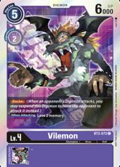 Vilemon - BT2-072 (July Evolution Cup 2021 Event Pack)