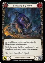 Barraging Big Horn (Blue) - Rainbow Foil - Unlimited Edition