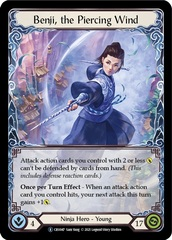 Benji, the Piercing Wind - Rainbow Foil - Unlimited Edition