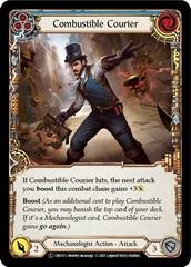 Combustible Courier (Blue) - Unlimited Edition