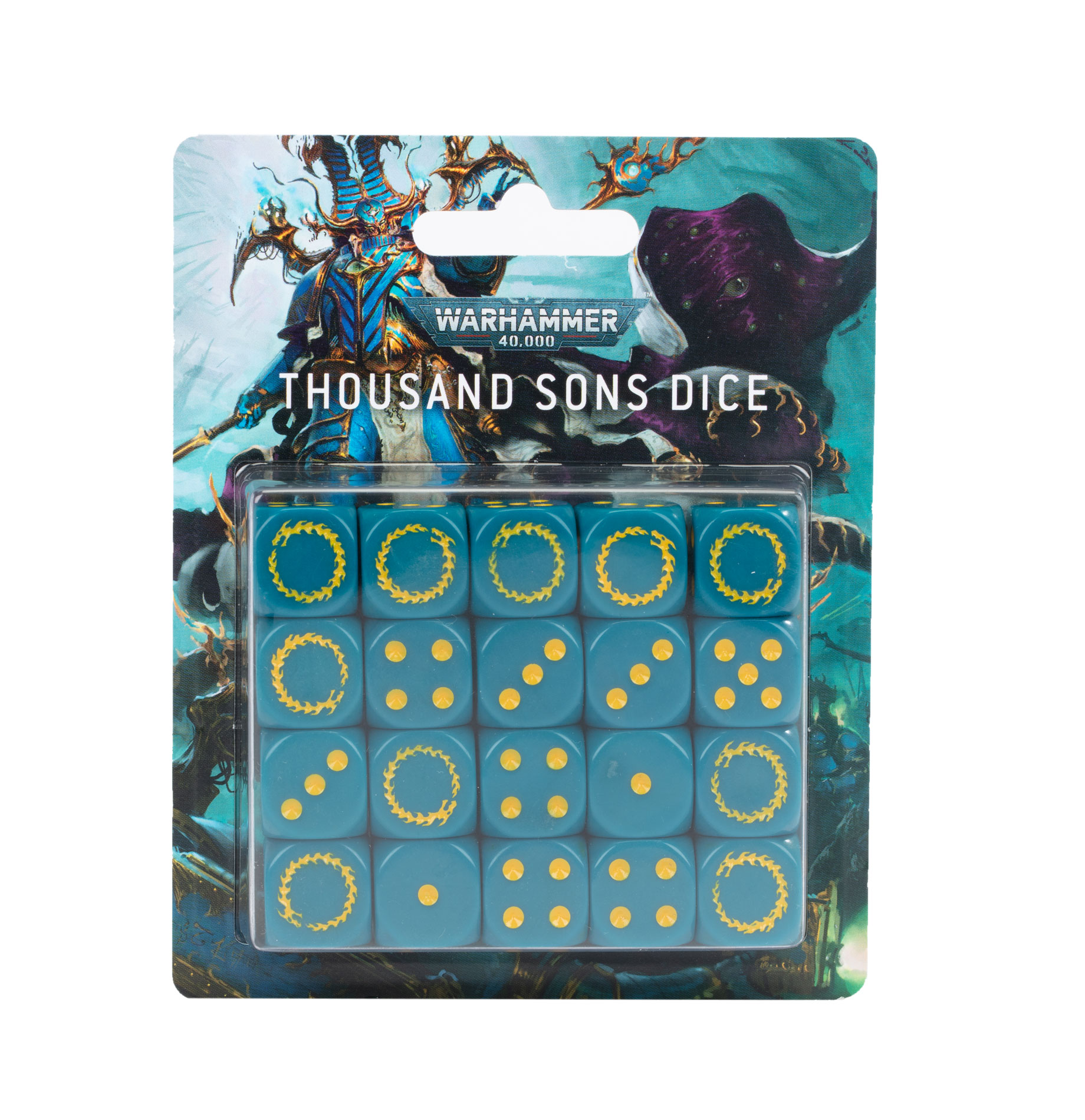 Warhammer 40000: Thousand Sons Dice Set