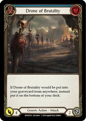 Drone of Brutality (Blue)