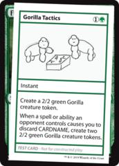 Gorilla Tactics (No PW Symbol)