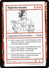 Tibalt the Chaotic (No PW Symbol)