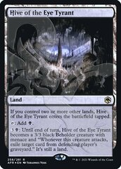 Hive of the Eye Tyrant - Foil - Ampersand Promo