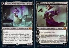 Liliana, Heretical Healer // Liliana, Defiant Necromancer - Foil