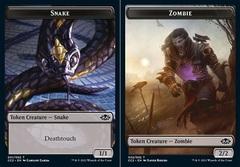 Snake // Zombie Token