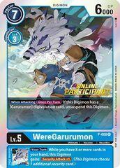 WereGarurumon - P-008 - P (2021 Championship Online Regional) [Online Participant]
