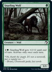 Snarling Wolf - Foil