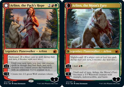 Arlinn, the Packs Hope // Arlinn, the Moons Fury